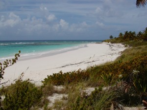 North Side Beach on Eleuthera, Bahamas.
