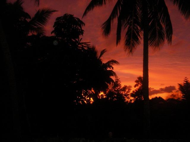Rock Sound Sunset